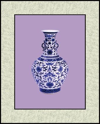 剪纸花瓶花朵图案步骤图片