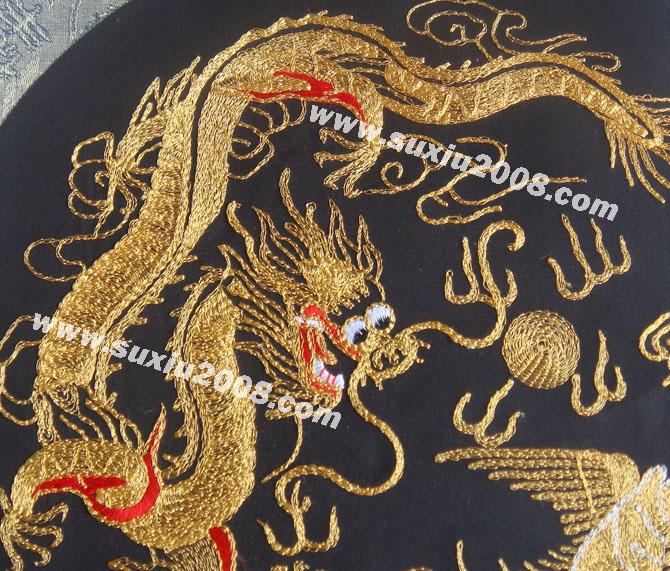 壁挂欧式刺绣图案