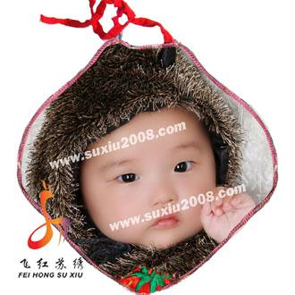 纯手工刺绣宝宝纯棉睡被|婴儿抱被