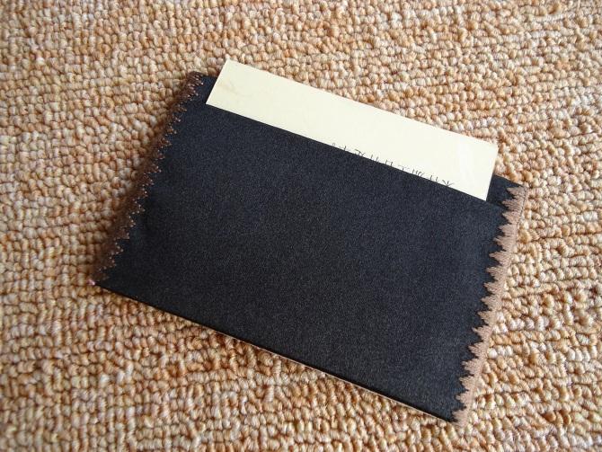 苏绣名片夹背面|手工绣花名片夹|刺绣名片夹